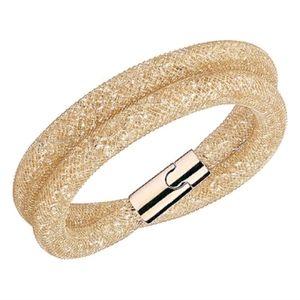 Swarovski chocker necklace - crystal- gold plated